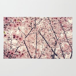 Blizzard of Blossoms Rug
