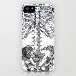 Inky Bones iPhone Case