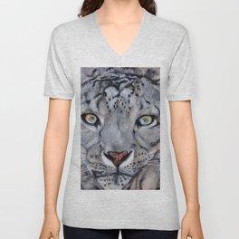 Snowleopard Unisex V-Neck