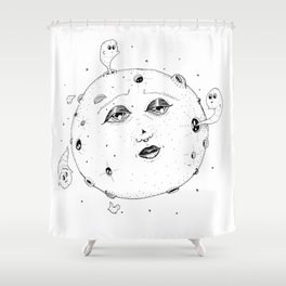 Head Fulla Spirits Shower Curtain