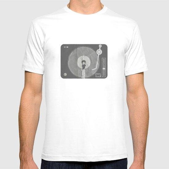 afro deck T-shirt