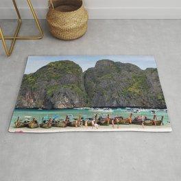 Maya Bay, Ko Phi Phi Lee Island, Thailand Rug