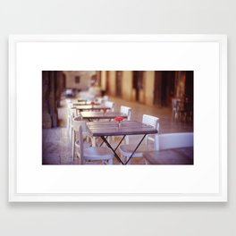 Tuscany Rose Framed Art Print