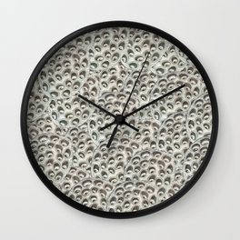 my own paranoia Wall Clock