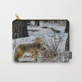 Wolf in Yosemite National Park Carry-All Pouch