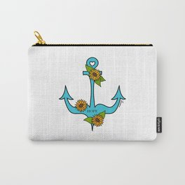 Hope Is An Anchor Carry-All Pouch