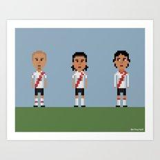 River Plate Art Print
