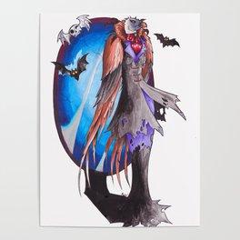 Vampire Vulture Poster