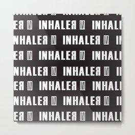 INhaler typo x1 Metal Print
