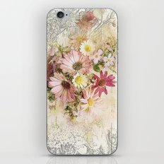 Sugar Sweet Shabby Chic Floral iPhone & iPod Skin