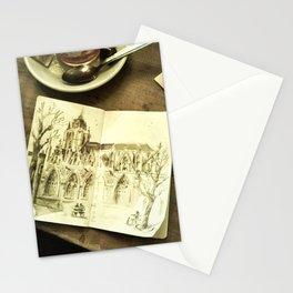 Urban Sketch Brussels Stationery Cards