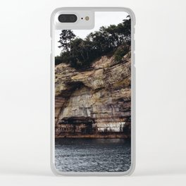 Pictured Rocks II Clear iPhone Case