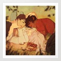 berserk Art Prints featuring Peace by Marta Milczarek