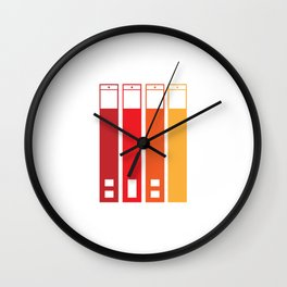 Web Traffic Wall Clock