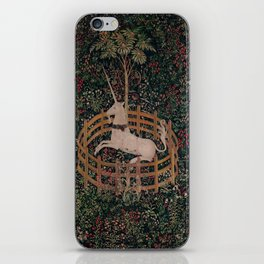Unicorn Magical Animal Medieval Art iPhone Skin