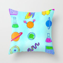 Science Throw Pillow