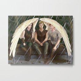 Wing Umbrella Metal Print