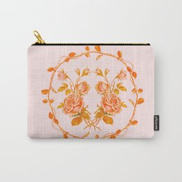 Garland and vintage roses Carry-All Pouch