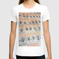 hollywood T-shirts featuring Hollywood hands by Mauricio Santana