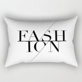 fashion typography Rectangular Pillow