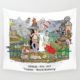 'Trespass' - 'Wind & Wuthering' Wall Tapestry