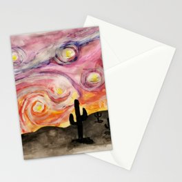 Starry Sedona Night Stationery Cards