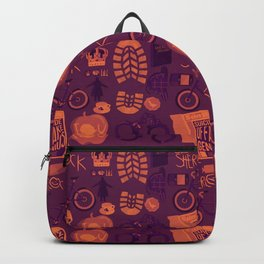 The Reichenbach Fall Backpack
