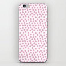 Dots Pink iPhone & iPod Skin