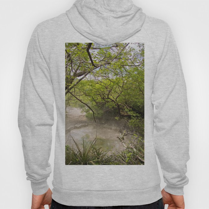 Boiling Mud Pit in Costa Rica Hoody