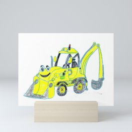 Scoop Mini Art Print