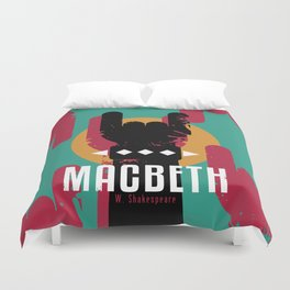 Macbeth by Shakespeare Duvet Cover
