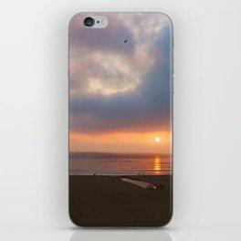 Sunset Santa Monica, California iPhone Skin