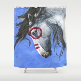 Hail Chief - Vision Shower Curtain