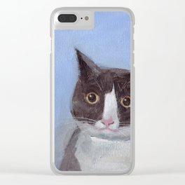 Carlos Clear iPhone Case