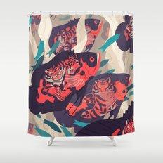 Hot Pursuit Shower Curtain