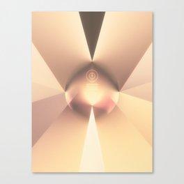 GodSunFlare Canvas Print
