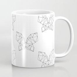 Geometric Butterfly Coffee Mug