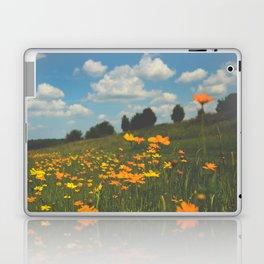 Dreaming in a Summer Field Laptop & iPad Skin