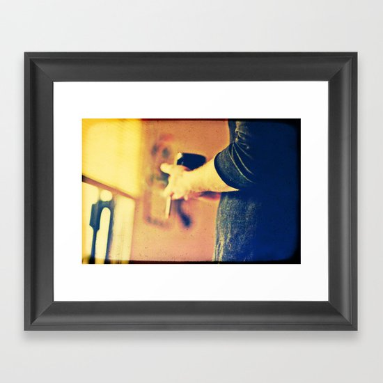 top of the morning Framed Art Print