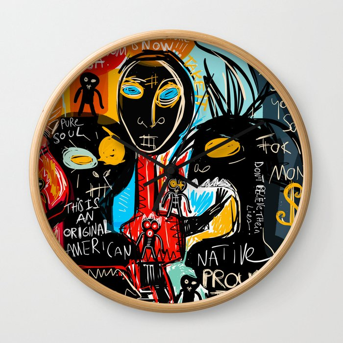 We're the children of freedom Wall Clock
