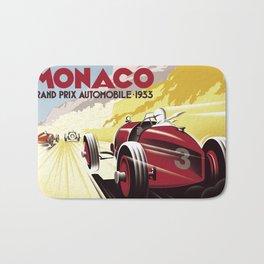 Monaco Grand Prix 1933 Bath Mat