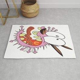Courage the Cowardly Dog Rug