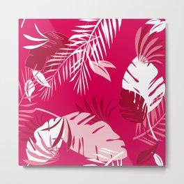 Honolulu Pink Metal Print