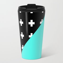 Memphis pattern 78 Travel Mug