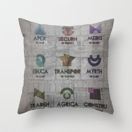 leveL -The Tiers Throw Pillow