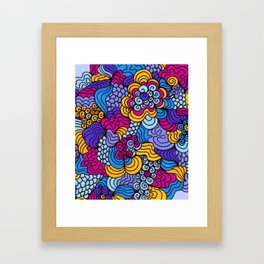 Keepin' it Groovy Framed Art Print