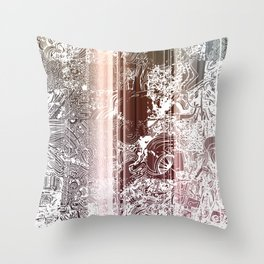 THE A LIST Throw Pillow