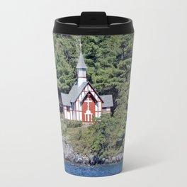 St Isaac Jogues Chapel, Hecker Island (Lake George, NY) Travel Mug