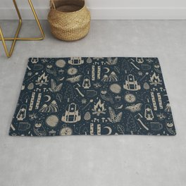 Into the Woods: Stargazing Rug