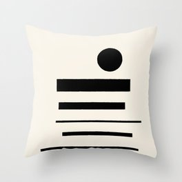 Abstract Composition 11 Throw Pillow